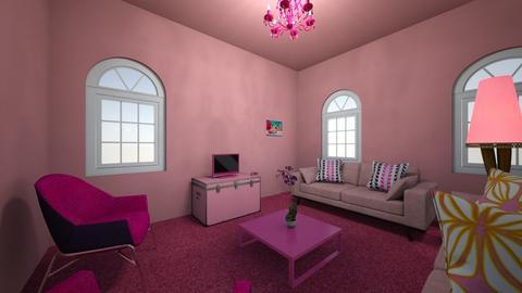 Pink room - Living room  - by Katlopez2003