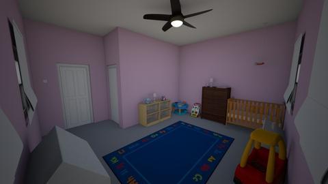 Little girls room  - Kids room  - by BrookieCookieBarrett