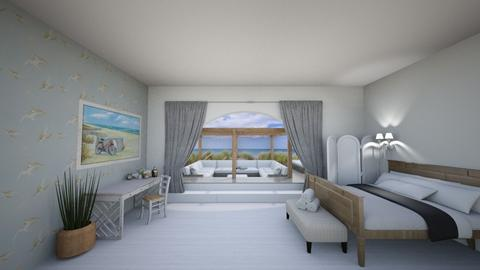 Beachfront Bedroom - Bedroom - by helsewhi
