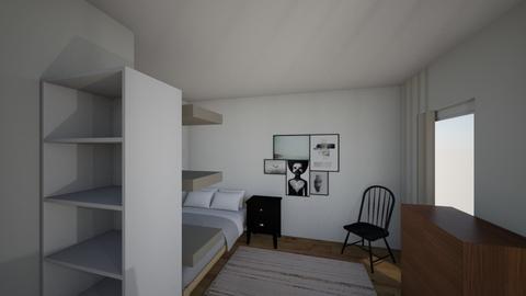 Nicholas room - Bedroom  - by sophiaashley