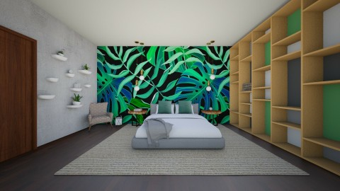 Leafy - Bedroom - by 532johanna