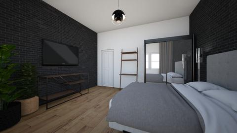 Black stone - Modern - Bedroom - by DomiMat