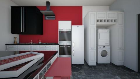 house - Vintage - Kitchen  - by yonfray rojas