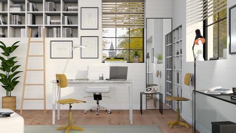 Autumn Office - Minimal - by Sally Simpson