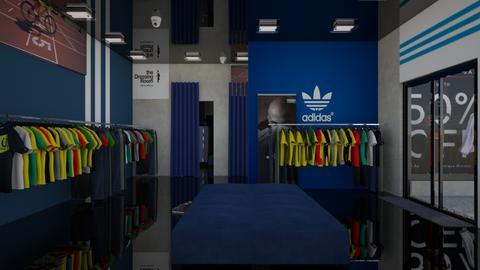 Adidas sports shop - by ilikalle