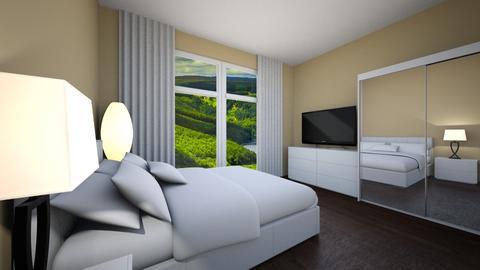 Wh - Modern - Bedroom  - by Twerka