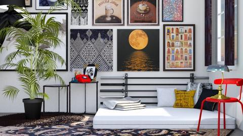 eclectic - Bedroom - by _firecrackers