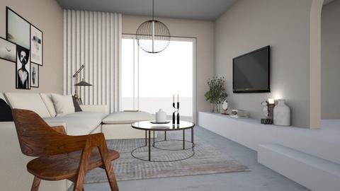LIVING SCANDI - Living room  - by Maaikevh