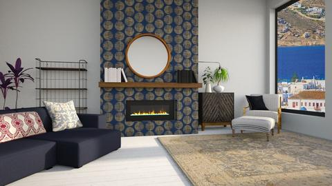 fireplace_contest_Citrus - Living room  - by CitrusSunrise