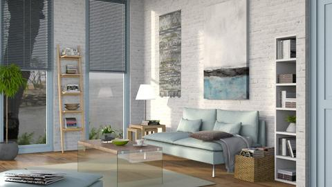 Template Living Room - Modern - Living room  - by Sally Simpson