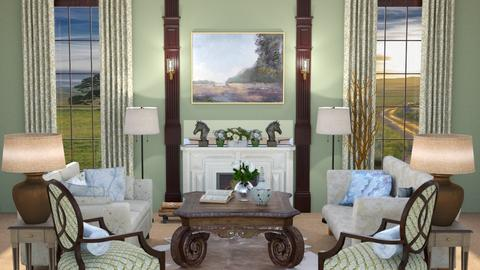 sheep - Country - Living room  - by abby_o