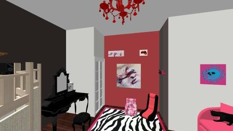 dream room  - Glamour - Bedroom  - by Dakota Sadler
