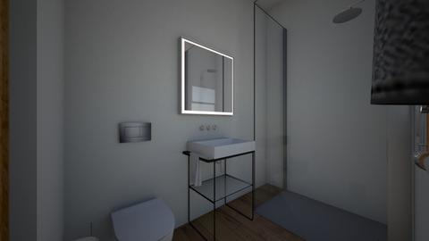 klein wohnung - Bathroom  - by schoenpi