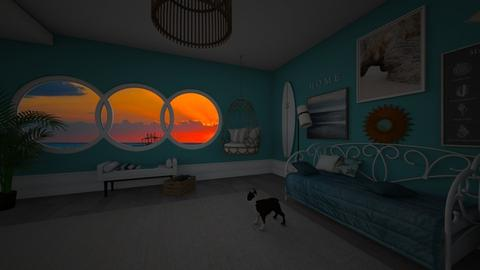 By the Sunset - Eclectic - Bedroom  - by 00l0ps