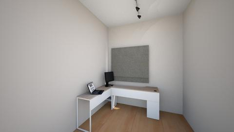 Home office 1 - Minimal - Office  - by luferogo