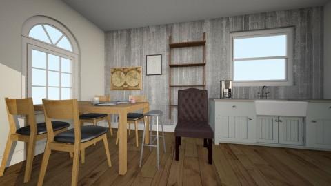 Connie kitchen - Classic - Kitchen  - by cymbios
