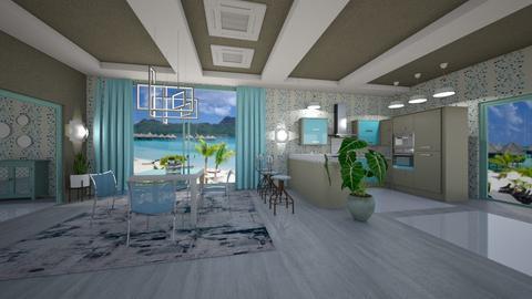 TBDr - Modern - Dining room - by Saj Trinaest