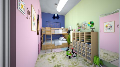 play and sway - Eclectic - Kids room - by NatSB