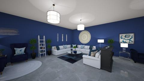 Q2 Intro example  - Living room  - by grache197