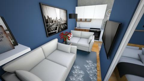 condo 2 living - Modern - Living room - by edjsueno