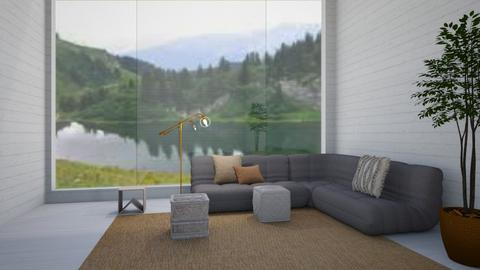 lounging area - Minimal - Living room  - by buggie dude