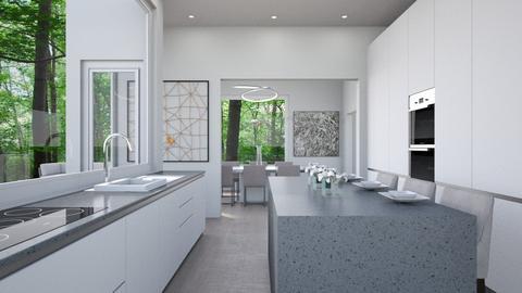 Modern Forest - Kitchen - by lauren_murphy