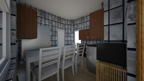 Cocina  - Kitchen  - by exdrawi