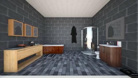 modern bathroom - Modern - Bathroom - by PaytonLee15