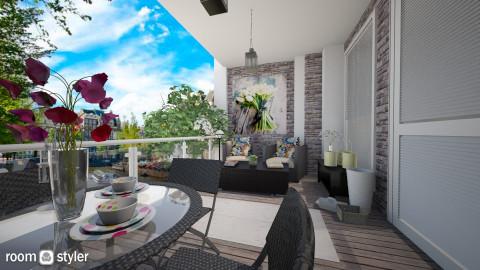 balcony garden  - Garden  - by rafita