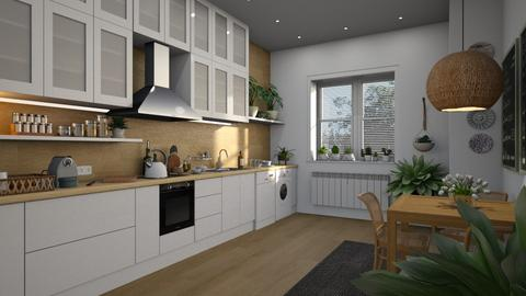 445 - Modern - Kitchen  - by Claudia Correia