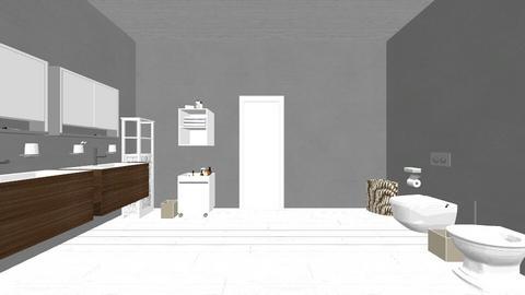 Bathroom MHouse - by biancasaraccini