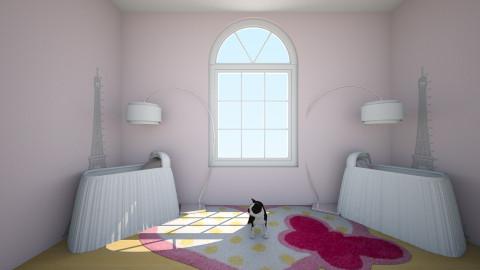 twins - Feminine - Kids room - by pikachuXtoriX