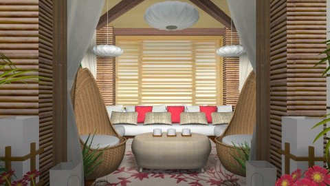Hut Living - Living room  - by channing4