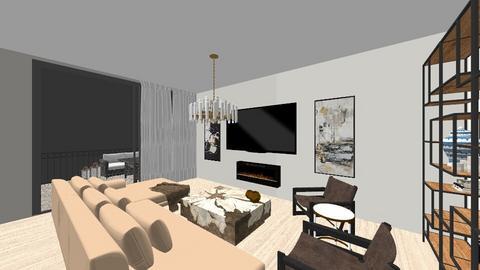 Fairmount Ave - Modern - Living room  - by crieth4