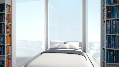 Transparent bedroom - Bedroom - by Mger Sargsyan