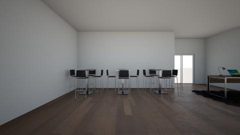 Modern restaurant  - Dining room  - by L farmer