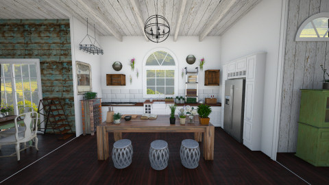 Rustic Kitchen - Rustic - Kitchen  - by Ali Ruth