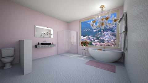 Pink Bathroom - Bathroom  - by avamalagisi