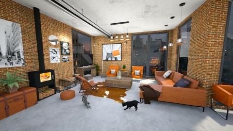 city - Rustic - Living room  - by annator