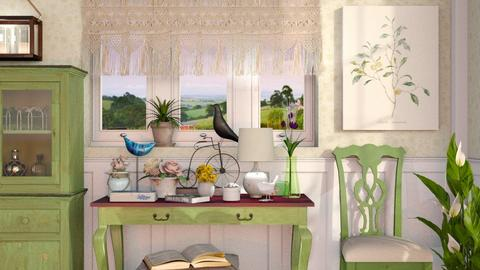 Spring - Country - Living room  - by Sally Simpson