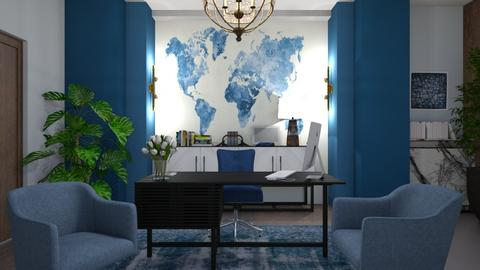 Blue Lawyers Office2 - Office  - by matina1976