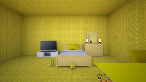 The Yellow Room - Bedroom  - by Queen Nyny