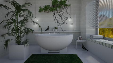 Bird bath - Bathroom  - by Thrud45