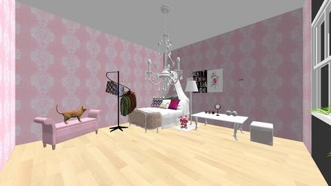 pink girl - Bedroom - by Asa56678