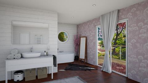 Cherry Blossom Bathroom - Bathroom  - by sarah145