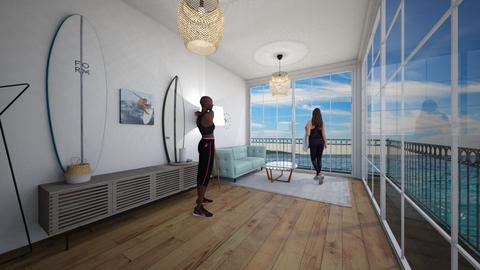 Surf culture hallway - Glamour - by designermars