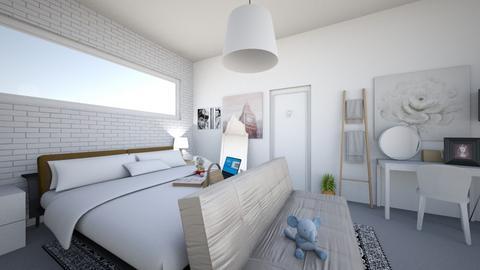girly bedroom - Bedroom  - by sunshiyane