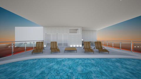pool - Garden  - by katarinalaaksonen