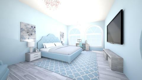 Blue Princess - Bedroom  - by violetpeaks
