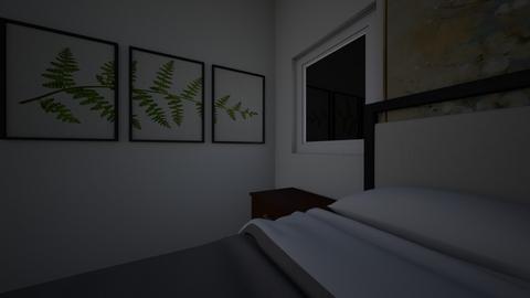 phong ngu - Vintage - Bedroom  - by kimtrangvo08